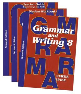 Saxon Grammar and Writing 2nd Edition Grade 8 Bundle