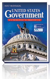 Holt McDougal US Government Bundle - Grades 9-12
