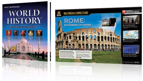 Holt McDougal World History Bundle - Grades 9-12