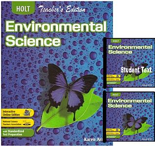 Holt Environmental Science Bundle - Grades 9-12 - Elective