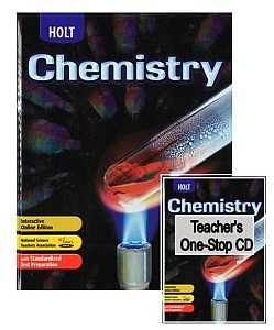 What is the website for the Holt chemistry book?