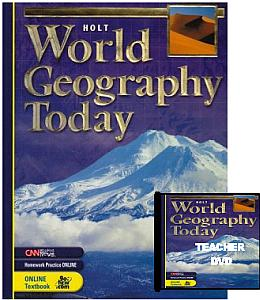 Holt World Geography Today Bundle - Grades 9-12