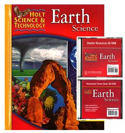 EARTH SCIENCE Bundle Grades 6-8 w/Parent Guide CD
