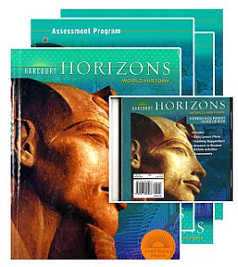 WORLD HISTORY Grade 6 KIT w/Textbook, CD, Tests, Answer Keys & L