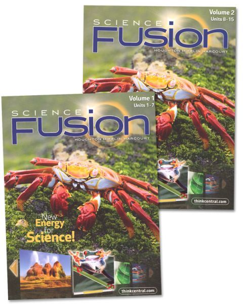 Houghton Mifflin SCIENCE FUSION - Grade 5 Science Bundle