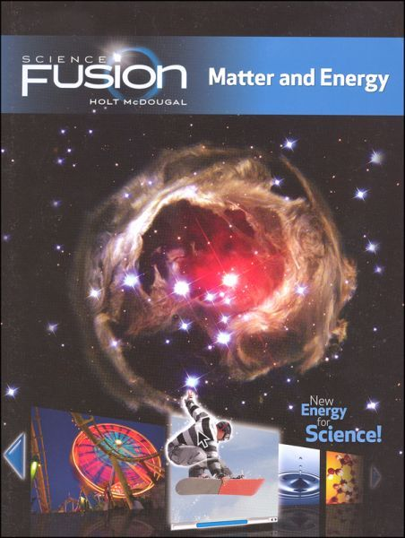 FUSION Module H - Grades 6-8 - Matter and Energy Bundle