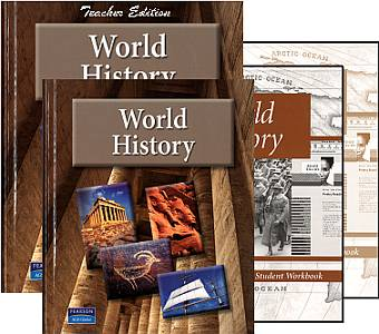 Pearson/AGS World History Bundle - Grades 9-12