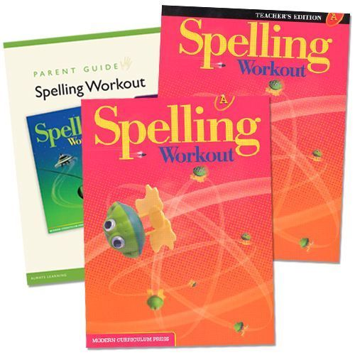Spelling Workout A Grade 1 Bundle