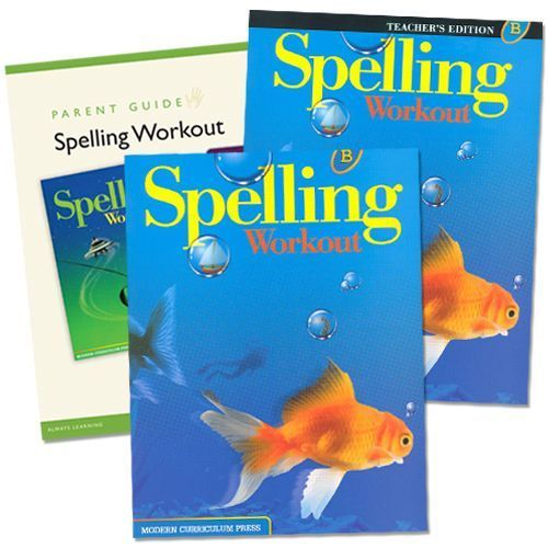 Spelling Workout B Grade 2 Bundle