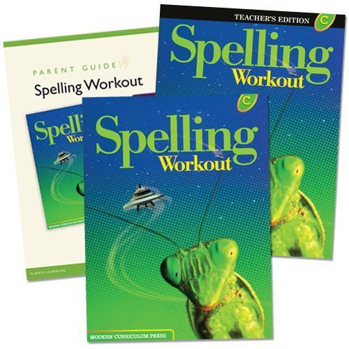 Spelling Workout C Grade 3 Bundle