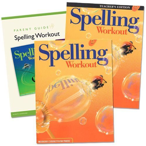 Spelling Workout D Grade 4 Bundle