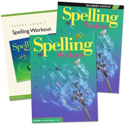 Spelling Workout E Grade 5 Bundle