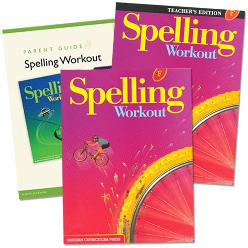 Spelling Workout F Grade 6 Bundle