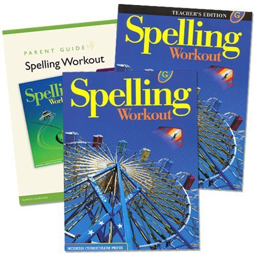 Spelling Workout G Grade 7 Bundle
