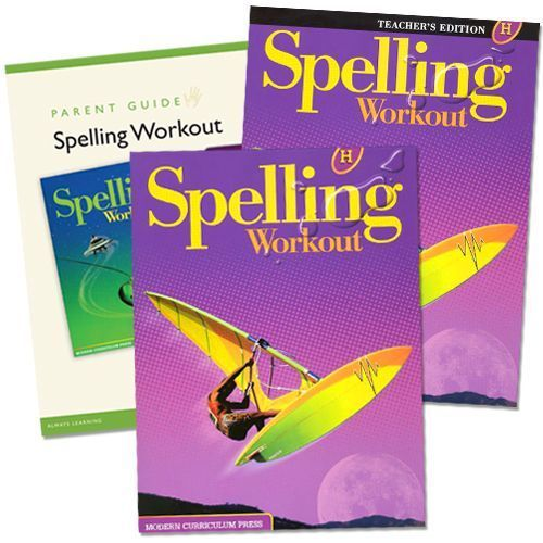 Spelling Workout H Grade 8 Bundle
