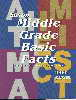 Saxon Math - Middle Grade Basic Fact Cards
