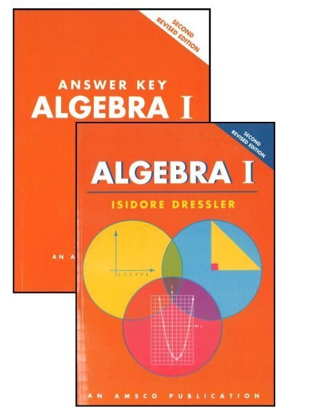 AMSCO Algebra 1 - Grade 9 Bundle