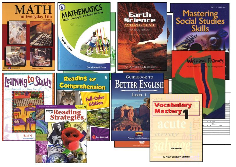 Basic 7th Grade Homeschool Bundle - Full Year