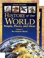 History Of Our World, People, Places, & Ideas Textbook Bundle
