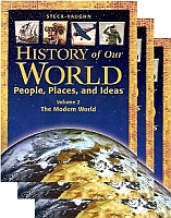 History Of Our World, People, Places, & Ideas Workbook Bundle