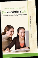 MyFoundationsLab Math - Grades 4 & Up - for Homeschool Student A