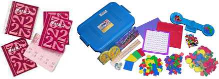 Saxon Math - Grade 2 Home Study Bundle w/Manipulatives