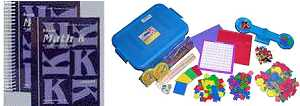 Saxon Math - Kindergarten Bundle w/Manipulatives
