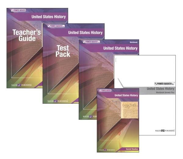 Power Basics: United States History Homeschool Bundle